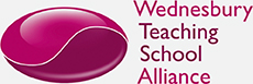 wednesbury teaching school association logo